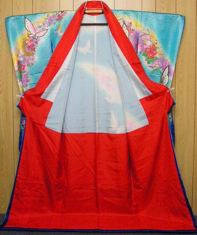 kimono.fraise.net :: gallery : Butterflies on Blue ...
